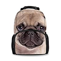 Nopersonality 3 Piece School Bag Felt Fabric Backpack and Lunch Bags Pencil Case