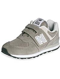 New Balance Kv754, Chaussures Bateau Garçon - Noir (Black), 29 EU