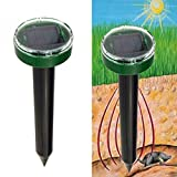 Generic Hot New Mole Repellent Solar Power Eco-Friendly Ultrasonic Pest Reject Gopher Mole