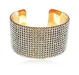 #4: Shining Diva Jewellery Crystal Kada Bangle Bracelet for Girls and Women