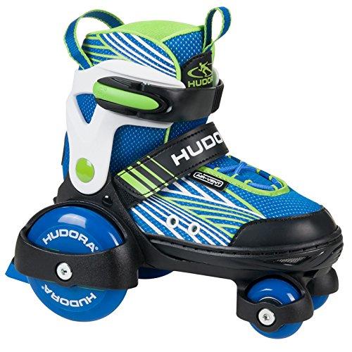 HUDORA Jungen 22041 My First Quad Boy Gr. 30-33 Rollschuhe Skates Discoroller, 26-33