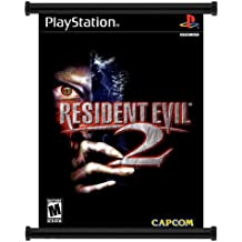 Resident Evil 2 (Bio Hazard 2) Game Fabric Wall Scroll Poster (32x43) Inches