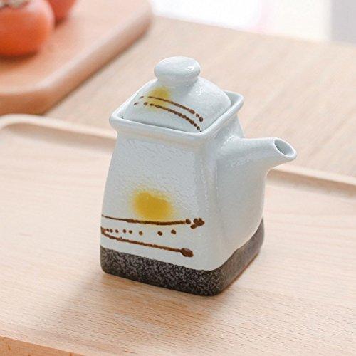 Japanisch creative keramik spice jar Küchen-salz-shaker Die menage Zuckerdose Spice-dosen Chili oil tank-L