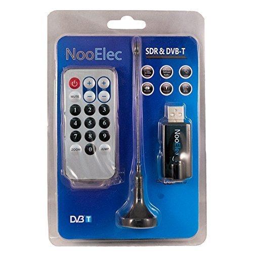 Nano-P NESDR NooElec, negro: pequeño USB RTL-SDR e ADS-B receptor/jue