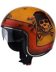Airoh Riot Skull Boy Jet Casco, RIOT, matt dekor, XS(53/54)