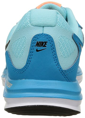 Nike Wmns Dual Fusion X, Dual Fusion X homme multicolore (Blue Lagoon/Black-Cp-Snst Glw)