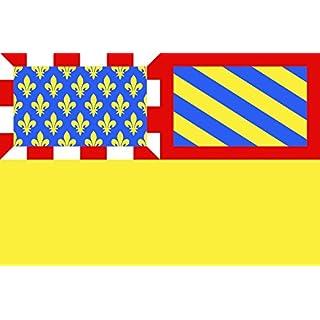 DIPLOMAT Flagge Fr département Côte-d Or | Côte-d Or | Département de la Côte-d Or | Côte-d or | Querformat Fahne | 0.06m² | 20x30cm für Flags Autofa