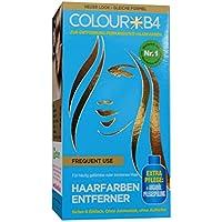 COLOURB4 Frequent Use Haarfarben Entferner, zur Entfernung permanenter Haarfarben, für häufig gefärbtes oder trockenes Haar, sicher & einfach, ohne Ammoniak & Aufheller! ACHTUNG:Dieses Produkt enthält Bestandteile die bei gewissen Personen Hautrei