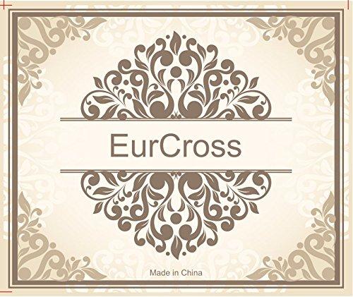 Eurcross, Borsa a zainetto donna nero Black 30*15*40cm Black