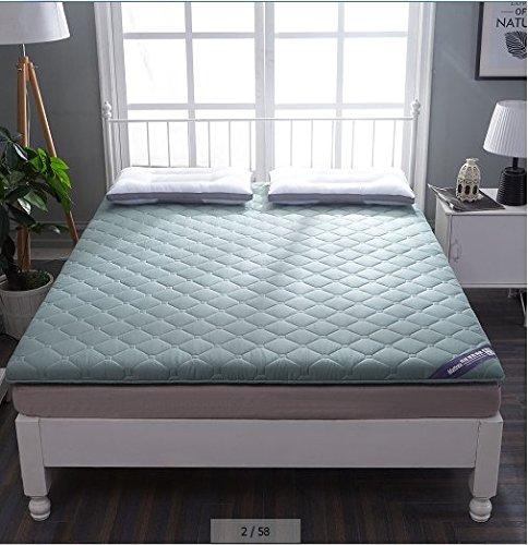HYXL Falten Tatami tatamimatte Stock-matratze Pad,Weich Wattiert matratzenschoner Tatami matratze Schlafzimmer Falten schlafsaal einzelbett matratze-G 200x220cm(79x87inch)