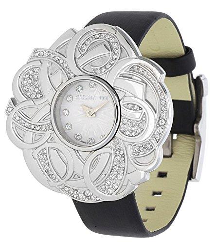 Cerruti Damen Armbanduhr schwarz CRWM041B2120