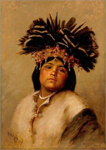 te 50 x 70 cm: To-Tole von Grace Carpenter Hudson (Traditionelle Kleidung Von Amerika)