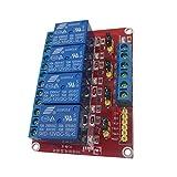 MagiDeal 4/8-Kanäle Relais Modul Brett Relaismodul Für Arduino Relay Module - 12v 4 Kanal