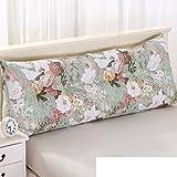 Bett tatami soft bag kissen Triangle grosse rückenlehne Couch kissen im bett Waschbares zwei-personen-kissen Taille-kissen-M Durchmesser200cm(79inch)