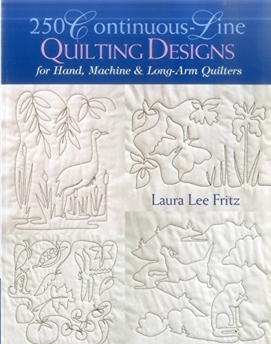 250 Continuous-Line Quilting Designs: For Hand, Machine & Long-Arm Quilters (English Edition) -