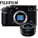 "Fujifilm X-Pro2 Compact System Camera w/ Fujinon XF18 18mm F2.0 Pancake Lens (16MP, APS-C X-Trans CMOS Sensor, 3"" LCD)"