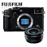 Allcam Fujifilm X-Pro2 Compact System Camera w/Fujinon XF18 18mm F2.0 Pancake Lens (24MP, APS-C X-Trans CMOS Sensor, 3' LCD)