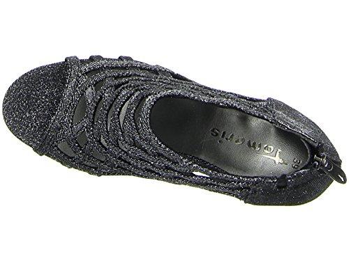 Tamaris 1-28388-38 sandales mode femme BLACK GLAM