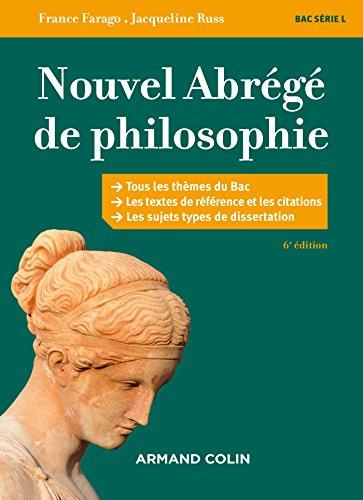 Nouvel abrg de philosophie - 6e d. - Bac srie L