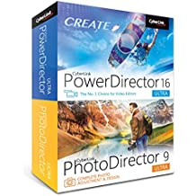 Cyberlink Power Director 16 Ultra + Photo Director 9 Ultra (PC)