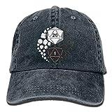Dungeons and Dragons Yin Yang Unisex Adjustable Baseball Caps Denim Hats Cowboy Sport Outdoor