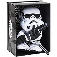 Joy Toy 1601761 - Storm Trooper Black Line Plüsch 25 cm aus verschiedenen Materialien (Leder, Kunststoff) mit vielen Details und Exklusiver Star Wars Verpackung