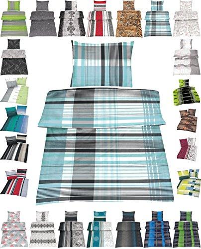 Wasserbetten-Markenshop Microfaser Bettwäsche Set 2 Größen viele schöne Designs