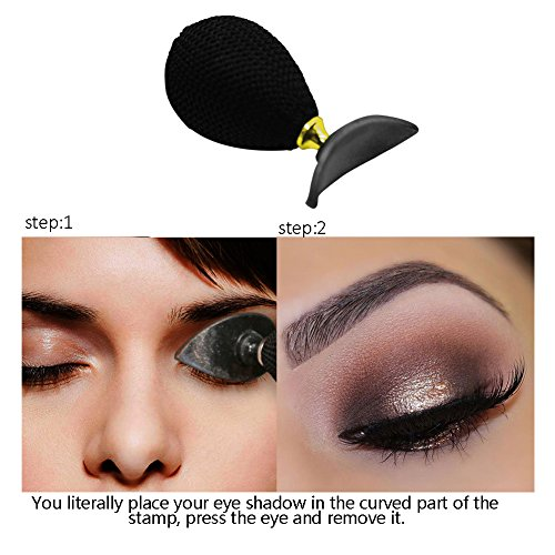 Pretty Comy Eyeshadow Stamp Waterproof Crease Easy Makeup Fácil de limpiar Eye Makeup tool