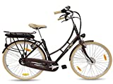 LLOBE E-Bike Hollandrad Haamstede, 28 Zoll, 3 Gang, Frontmotor, 374 Wh 71,12 cm (28 Zoll)