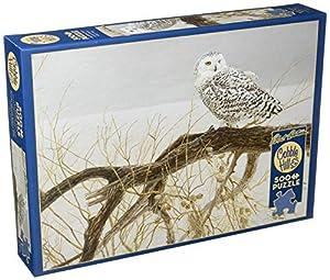 Cobblehill 85031 - Puzzle de búho de Nieve, 500 Piezas, diseño de búho