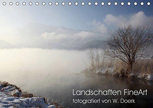 Landschaften FineArt (Tischkalender 2019 DIN A5 quer): Faszinierende Landschaftsstimmungen im Jahresablauf (Monatskalender, 14 Seiten ) (CALVENDO Natur)