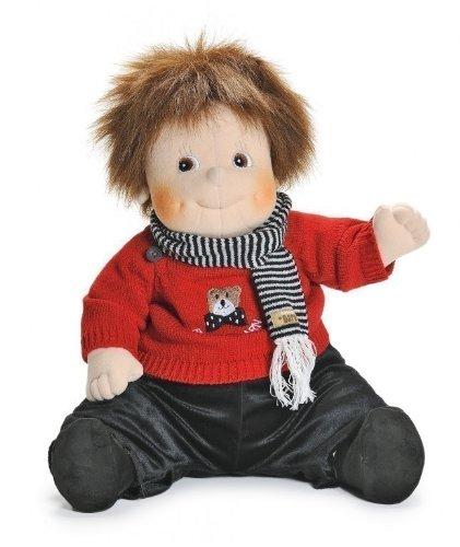 Rubens Barn Original Puppe Emil im Teddy Outfit 50 cm Nr. 20011315