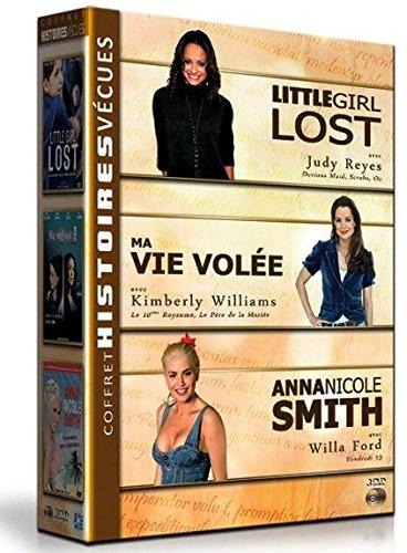 Coffret histoires vécues : little girl lost ; ma vie volée ; anna nicole smith [FR Import]