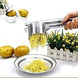 lzndeal Pommes de terre ou de légumes Ricer Légumes Fruit de presse Maker