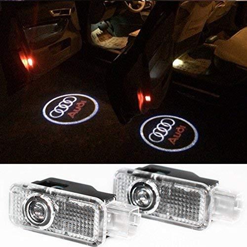 Inlink 2 Stück Einstiegsbeleuchtung Logo Projektor Autotür Logo Projektion Licht Türbeleuchtung Projektor