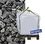 Basaltsplitt Zierkies Eifelschwarz 11-22mm 600kg Big Bag - zur dekorativen Gartengestaltung