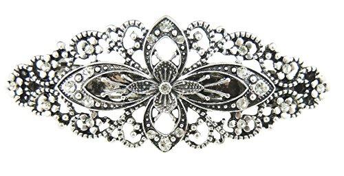 Glamour Girlz in metallo stile vintage 8cm Fermaglio Per Capelli