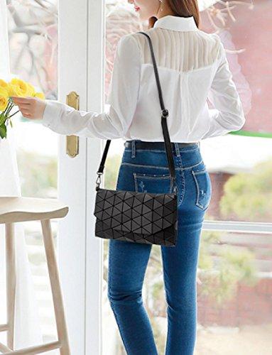 LAIDAYE Ms. Messenger Tasche Damenhandtasche Tasche Clutch Handtasche Schulter Umhüllen 3