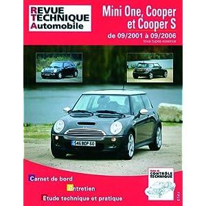 Revue Technique Mini B703 One/Cooper 1.6 90-110 et S163/170