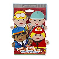 Jolly Helpers Hand Puppets - Melissa And Doug