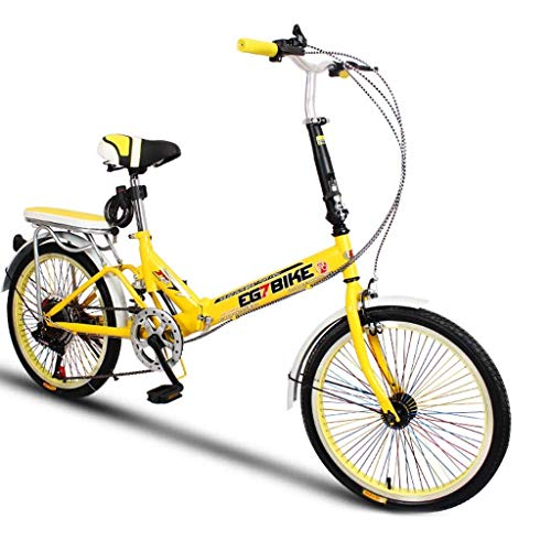 lquide Faltbare Fahrräder Faltrad Ultraleicht Tragbare Mini Kleine Raddrehzahl Stoßdämpfung (20 Zoll / 16 Zoll)