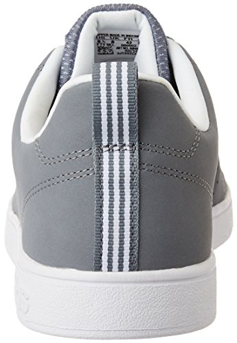 adidas Herren Advantage Clean VS Turnschuhe, Grau, Eu Grau