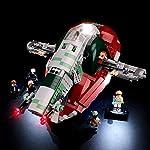BRIKSMAX-Kit-di-Illuminazione-a-LED-per-Lego-Star-Wars-Slave-I-Compatibile-con-Il-Modello-Lego-75243-Mattoncini-da-Costruzioni-Non-Include-Il-Set-Lego