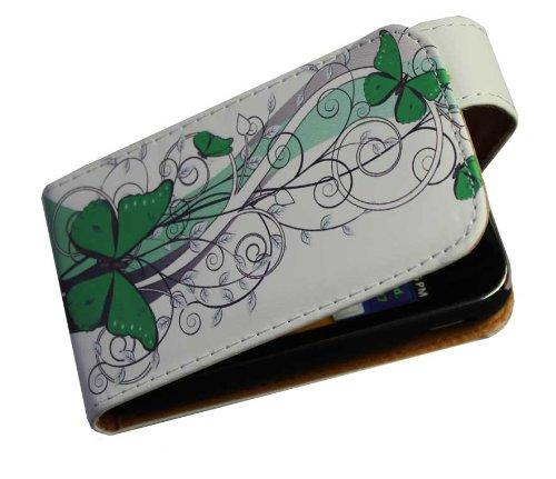 Handy Tasche Case Flip für Samsung Galaxy Y GT-S5360 / Hülle Etui Handytasche Schutzhülle JS M15