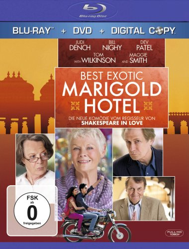 Best Exotic Marigold Hotel [Blu-ray + DVD]