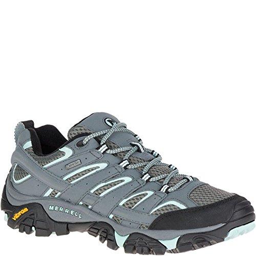 Merrell Moab 2 GTX, Zapatillas de Senderismo para Mujer, Gris (Sedona Sage), 40 EU