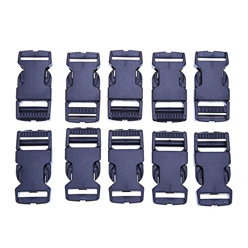 10pcs 1 Webbing Plastic Slider Tri-glide Adjust Tri-ring Black Curve Buckle For Bag Parts Dog Collar Harness Backpack Strap Making Things Convenient For The People Apparel Sewing & Fabric