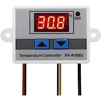 ICQUANZX Modulo termostato Digitale LED 220, Interruttore termostato XH-W3001 con sonda Impermeabile, termostato di…