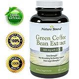 Nature Bound # Pur grain de café vert - ultra pure - extra fort - 50% l'acide chlorogénique 800mg par portion - garanti