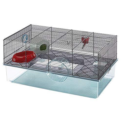 Ferplast Jaula para hámsteres FAVOLA, para pequeños roedores, Plástico...